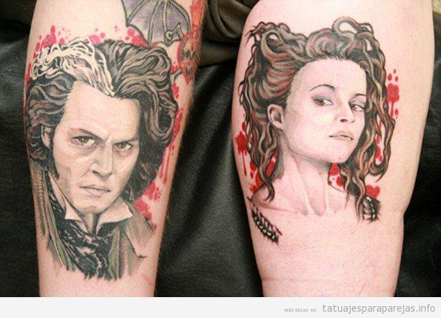 Tattoos tatuajes para parejas blog de fotos de for Sweeney todd tattoo