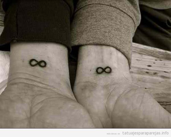 Tatuajes Simbolo Infinito Con Letras tatuajes para parejas con significado: + 50 diseños con un mensaje