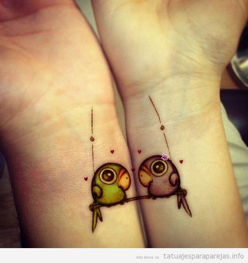 Enamorados | Tatuajes para Parejas | Blog de fotos de tatuajes en ...