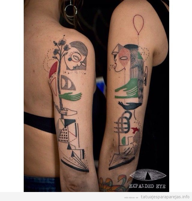 Tatuajes Originales Para Parejas 40 Disenos Que Son Unicos
