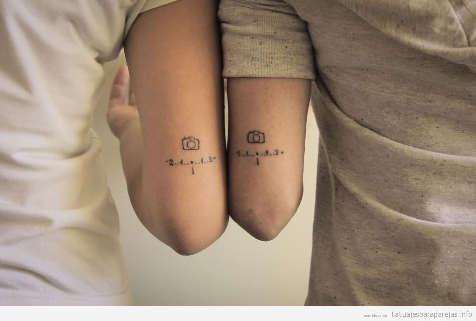 Tatuajes Parejas Originales tatuajes originales para parejas: + 40 diseños que son únicos