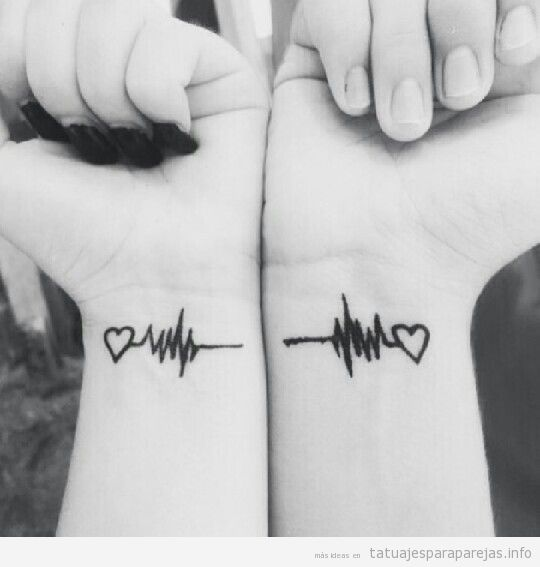 Tatuajes Pequenos Para Pareja Llenos De Significado Tatuajes Para - Tatuaje-parejas