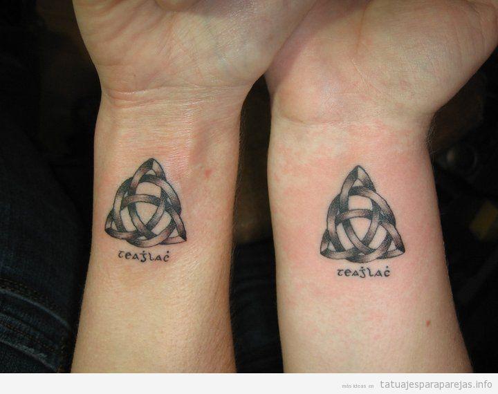 tatuajes pequeños para pareja llenos de significado • tatuajes