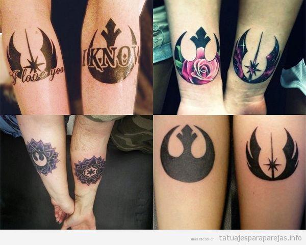 Tatuajes para parejas ideas de tatuajes bonitos y - Ideas originales para parejas ...