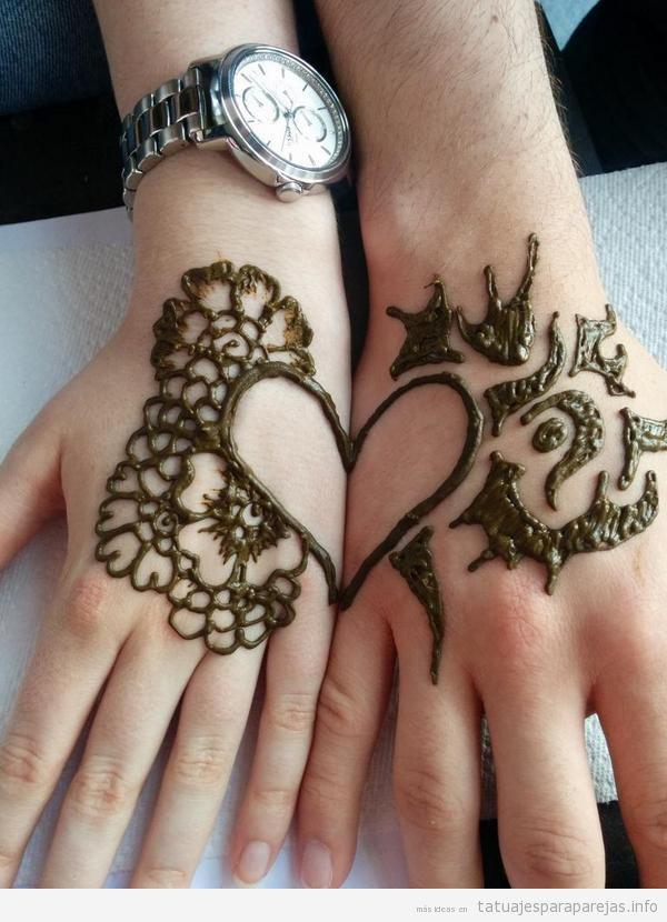 Tatuajes para Parejas • Ideas de tatuajes bonitos y