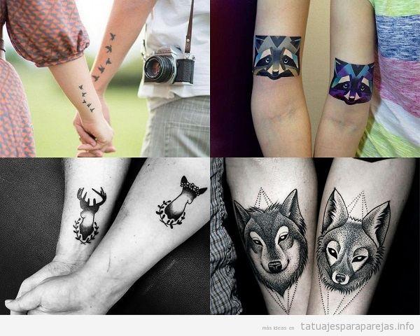 Tatuajes Para Parejas Hipsters 20 Disenos Para Un Amor Moderno