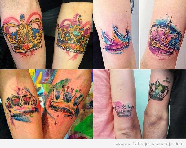 Tatuajes En Pareja De Coronas 24 Diseños En El Que Reinará Vuestro