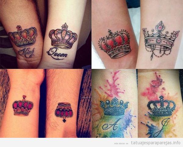 Tatuajes En Pareja De Coronas 24 Disenos En El Que Reinara Vuestro