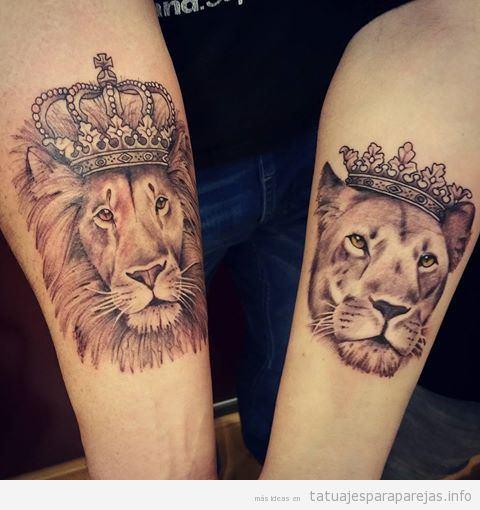 Tatuajes Pareja De Leones 30 Disenos Llenos De Poder Y Amor Tatuajes Para Parejastatuajes Para Parejas